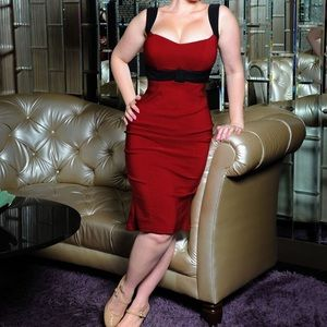 Pinup Couture Jessica Wiggle Dress
